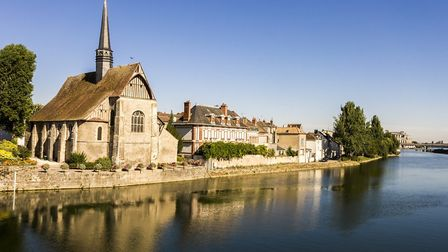 Parisians are househunting further afield such as the Yonne town of Sens (c) Joaquin Ossorio-Castill