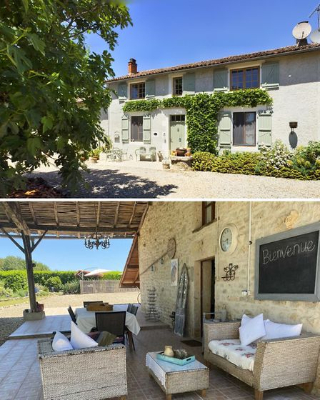 Chocolate box cottage and gite in Charente for sale with Beaux Villages