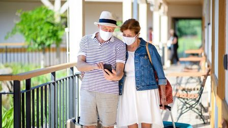 You can display your French health pass on your phone. Pic: Halfpoint/Getty
