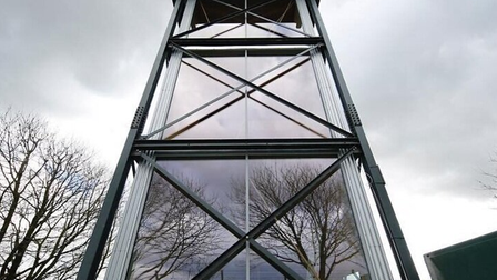 castle acre water tower exterior 2
