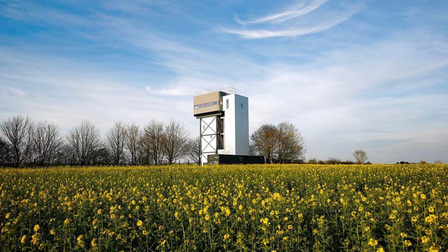 castle acre water tower exterior