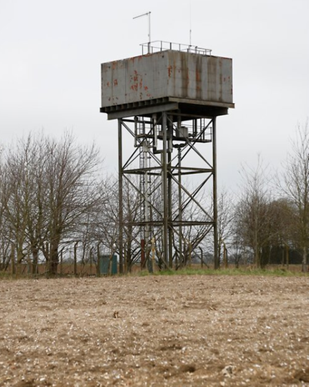 castle acre water tower before