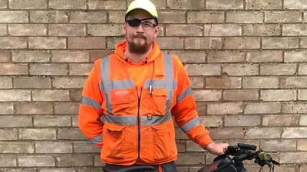 Mark Jones (pictured) is taking on the cycle challenge from Ely to West Yorkshire later this month (September).