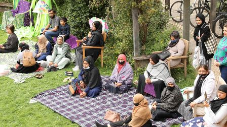 Garden party forthose completing the integration programme