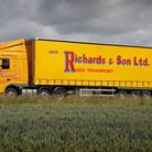 One of the Jack Richards and Sons lorries.