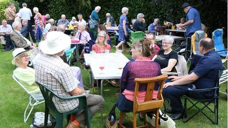 People in Dereham came together to celebrate the Harvest festival.
