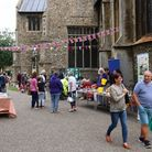 The Dereham community came together to celebrate the Harvest.
