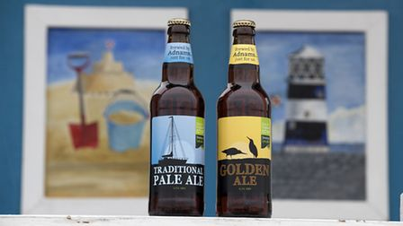 Adnams has joined forces with the East of England Co-op to create two new beers. Pictured are Tradit