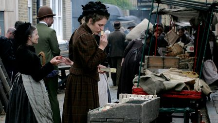 2009...film set off Columbia Road market for Hovis TVadd