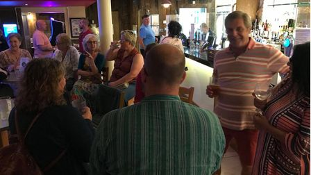 The Fakenham Exchange hosted their first meeting on September 8 at The Limes on Bridge Street,