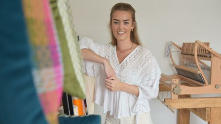 Sophie Clarke has launched her own business making handwoven products and has recently won a nationa