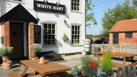 The White Hart pub in Otley worked around the clock to offer takeaway and delivery dishes during lockdown last year