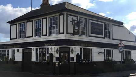 The Steamboat in Ipswich