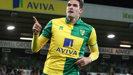 Norwich City striker Kyle Lafferty has dismissed talk of a loan move to Leeds United. Picture by Pau