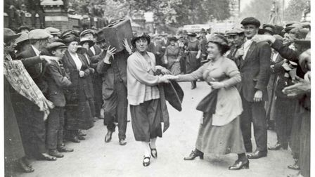 1921: Poplar councillor Minnie Lansbury led off to prison... she died at 32