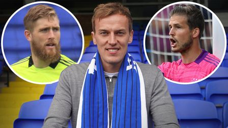 Christian Walton, Vaclav Hladky and Tomas Holy make up Ipswich Town's goalkeeping unit