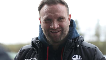 Bolton Wanderers manager Ian Evatt speaks to the media after the Sky Bet League Two match at The New