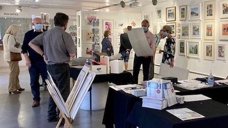 Watercolour exhibition on show at Babylon Gallery in Ely