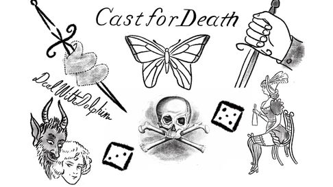 Common tattoos convicts wore in 18th and 19th centuries
