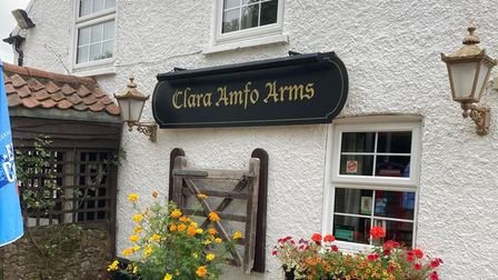 The Gate Inn, in Middleton, West Norfolk, has been renamed the Clara Amfo Arms.