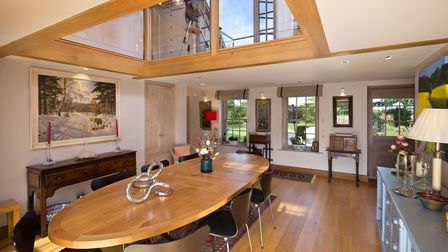 The interior of the property near Bury St Edmunds