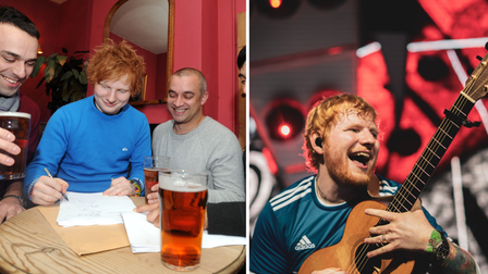 Ed Sheeran has rocketed up the charts in his first ten years as a recording artist