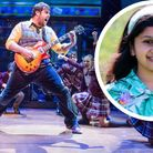 SingerSouparnika Nair, formerly of Bury St Edmunds, has a lead role in the School of Rock tour.