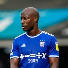 Sone Aluko pictured during the Bolton Wanderers game.