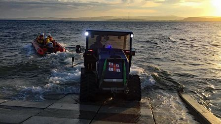 Exmouth RNLI Inshore Lifeboat