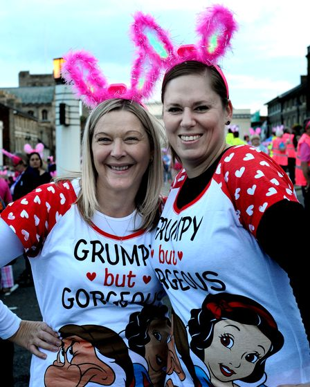 Amanda Kerr and Louise King from Ames in Thetford.