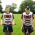 Toby and Tegid of Felsted School, Essex, have been fundraising in their summer holiday