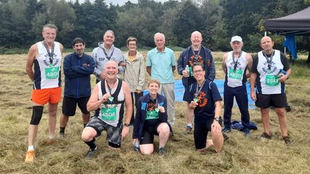 Barking Road Runners at the Essex Cross Country series race five
