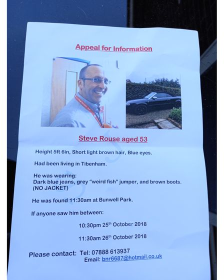 One of the leaflets Mr and Mrs Rouse have been distributing