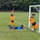 A Sprowston Tigers U10 player has been praised by Micah Richards on Football Focus.