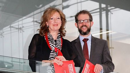 Cooper Lomaz's Jane Lovell and Mark Fletcher. Picture: Submitted