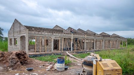 The school in Ghana which needs teaching and learning equipment.