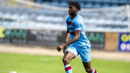 West Ham United's Aji Alese during the pre season friendly at Kilmac Stadium, Dundee. Picture date: