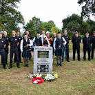 9/11 service in Exmouth Phear Park