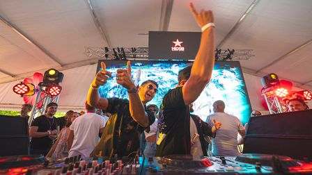 The event gathered some of the biggest names on the electronic music scene. Pic: Patrick Ortega