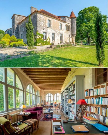 16th-century chateau in Charente