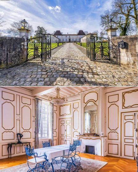 Eight-bedroom chateau close to the spa town of Dax