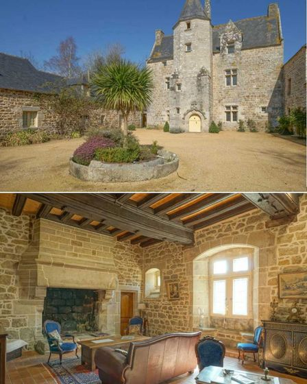 Brittany estate with chateau and gites