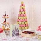 The new Laduree x Olympia Le-Tan collaboration promises to be a hit