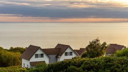 Take in the sea views of northern France