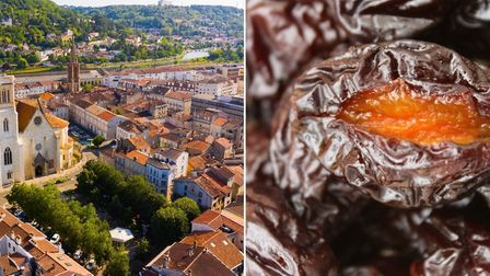 Agen prunes and the eponymous town