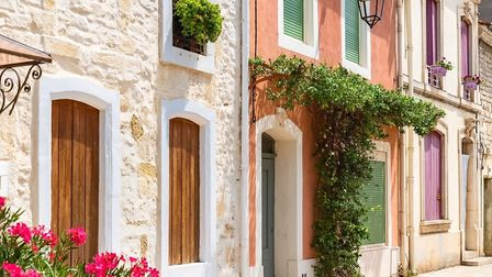 Colourful houses in the Languedoc. Pic: Pascale Gueret/Getty