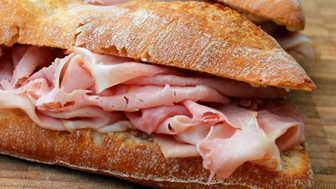 The classic jambon beurre