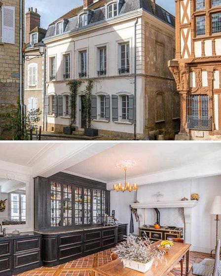 Superb townhouse in Burgundy 1h15 from Paris for sale with Leggett