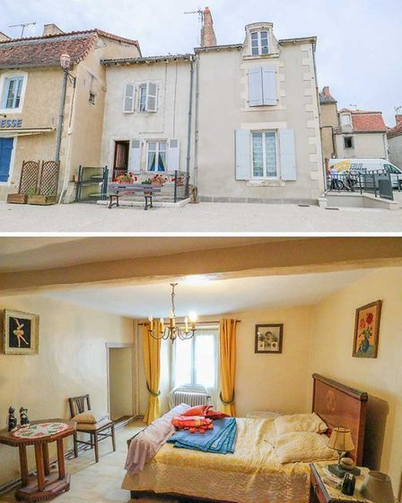 Lovely house in the book town of Montmorillon for sale with Leggett