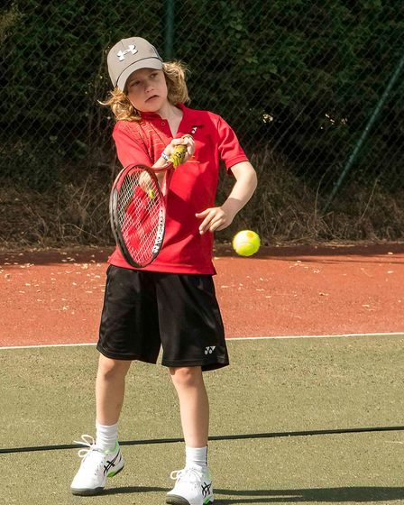Rory a member at Stowmarket Lawn Tennis Club